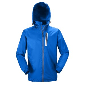 Men's Rain Suit Waterproof Lightweight Hooded Rainwear
