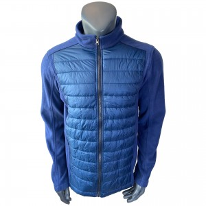 Mens Fleece Hybrid Padding  Jacket