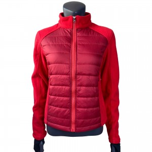 Womens Fleece Hybrid Padding  Jacket