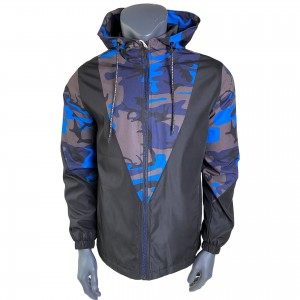 Unisex vintage waterproof windbreaker