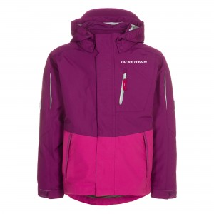 31-W002 Ladies' 3 in 1 Jacket