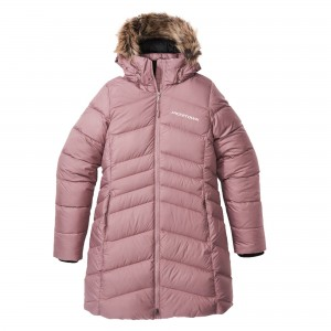 DJ-W012 Women long down jacket