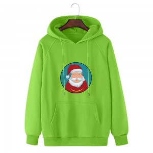 Basic hoodies with Christmas special print  WY0025